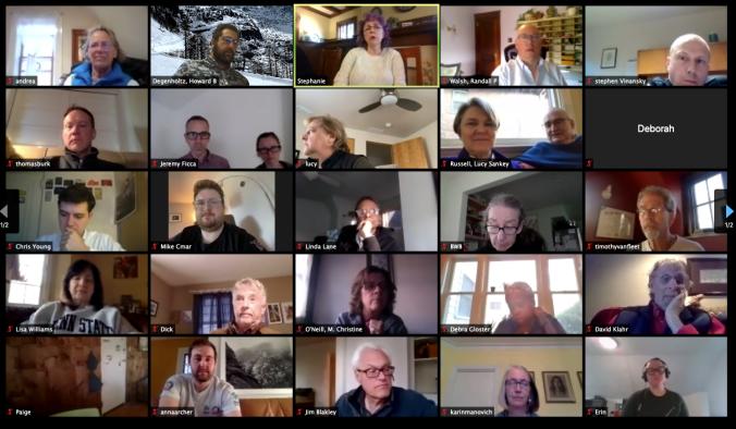 Zoom Community Meeting April 2020